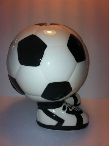 spardose fu ball spardose mit schuh wm em fussball. Black Bedroom Furniture Sets. Home Design Ideas